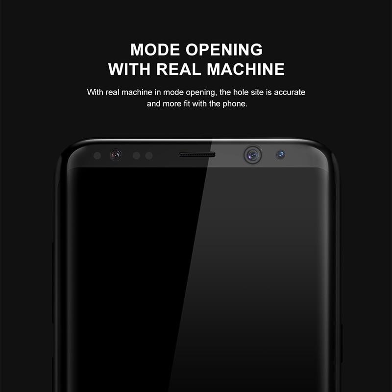 Baseus Էկրանի պաշտպանիչ Samsung Galaxy S8 3D Arc - Բջջային հեռախոսի պարագաներ և պահեստամասեր - Լուսանկար 4