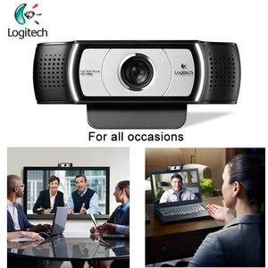 Image 5 - Logitech c930c 1920*1080 hd garle zeiss 렌즈 인증 웹캠, 4 시간 디지털 줌 지원 pc 용 공식 확인