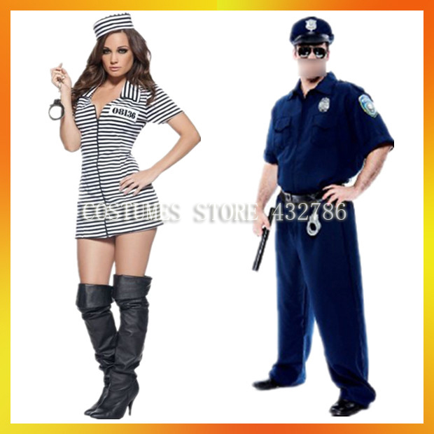 Free Shipping Retail(1 pieces)and Wholesale Halloween Sexy Costumes Prisoner and Police Carnival Costumes JSWC Mix115-in Anime Costumes from Novelty ...  sc 1 st  AliExpress.com & Free Shipping Retail(1 pieces)and Wholesale Halloween Sexy Costumes Prisoner and Police Carnival Costumes JSWC Mix115-in Anime Costumes from Novelty u0026 ...