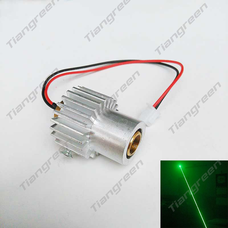532nm 200mW Green Laser Module Diode Stage Laser Lighting with Heatsink with Free Driver 10mw 532nm green laser diode module size16x60mm tem00 cw dc3v
