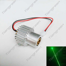 532nm 200mW Green Laser Module Diode Stage Laser Lighting with Heatsink with Free Driver