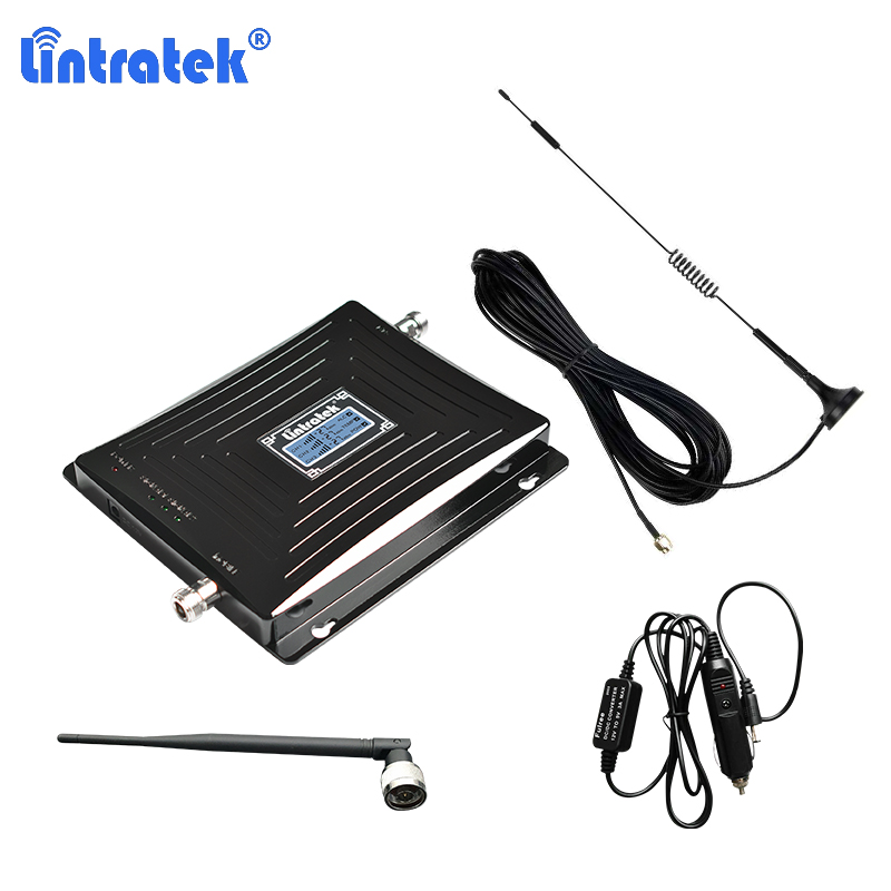 car repeater 2g 3g 4g 900/1800/2100mhz mobile signal booster lte dcs ampifier amplificador 4g network data b1 b3 cellular gsm 20