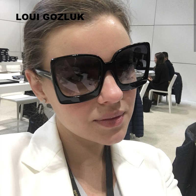 bf5a167345 2018 nueva Gradient Points gafas de sol Tom marcas alta del diseñador de  moda para las