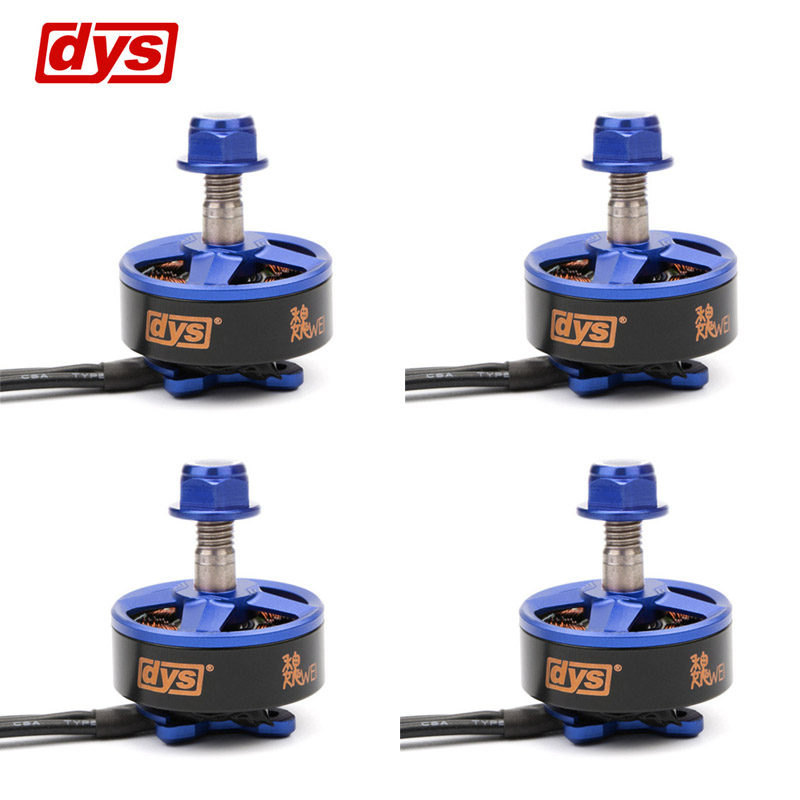 1 / 4PCS DYS Samguk Series Wei 2207 2300KV 2600KV 3-4S / 1750KV 4-6S Brushless Motor For RC Model Multicopter Spare Part