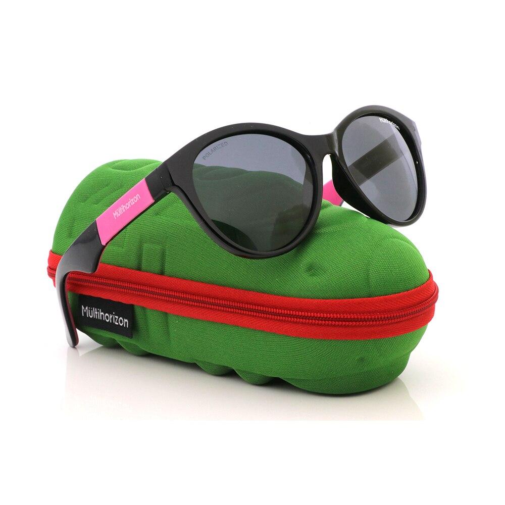 Kids Polarized Sunglasses TPEE Rubber Flexible Boys Girls Frame Outdoor Glasses