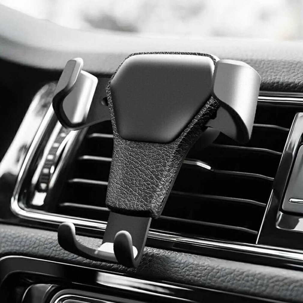 Car Holder For Phone Phone Standin Car Air Vent Clip Mount Mobile Phone Holder Cell Stand Support For IPhone X 7 Dropshipping