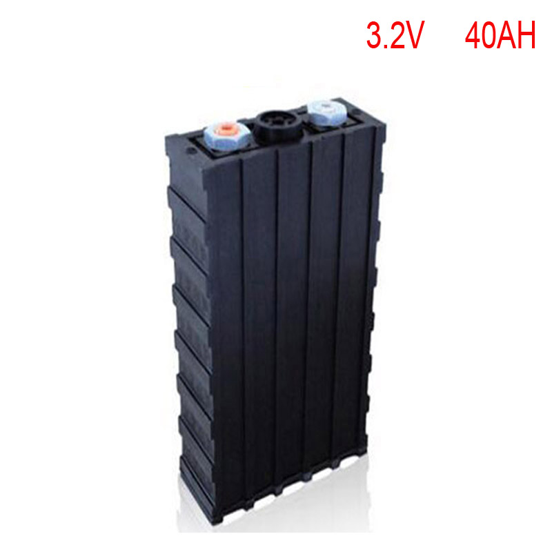 4pcs/lot No taxes Rechargeable Lithium Battery 3.2v 40ah lifepo4 Battery for Electric Car or Storage free customs taxes shipping electric car golf car forklift battery pack 48v 40ah 2000w lithium ion battery storage with 50a bms