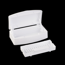 Nail Sterilizer Tray Disinfection Pedicure Manicure Box Nails Art Boxes Sterilizing Salon Tools (Empty Box)