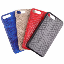 3D змеиной кожи чехол для телефона для iPhone 8 7 6s Plus X XS телефона, ПК жесткий чехол для телефона для samsung Note8 9 S8 S9Plus S10E чехол для телефона