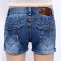 2016 New Arrival Women Short Jeans Simple Style Ladies Pockets Casual Shorts,SB279