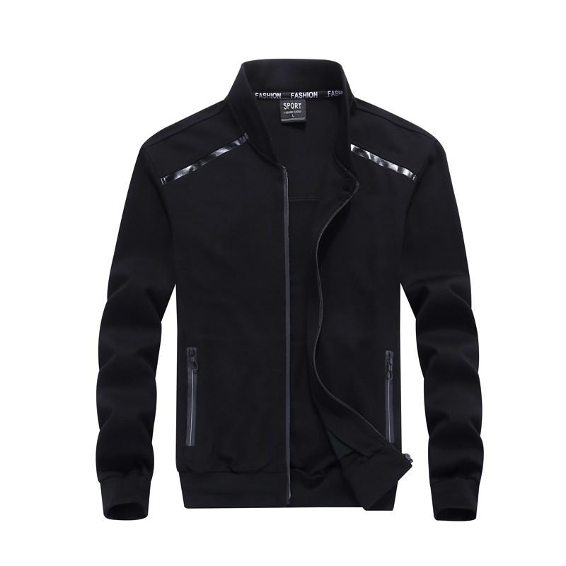 La nouvelle veste décontracté pour hommes pour le printemps, col et gilet de baseball, veste pour hommes, veste de mode de grande taille