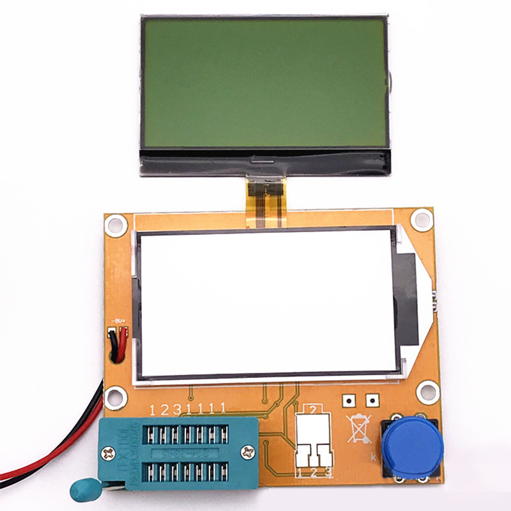 Image 2 - Imaging Diode MOSFET Test Hook ESR Transistor Tester Capacitor Resistor Multifunctional LCD For LCR T4-in Multimeters from Tools