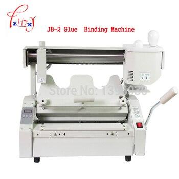 Buchbindemaschine | Hot Melt Buch Klebebindung Maschine JB-2 Desktop Bindung Maschine Kleber Buch Binder Maschine Booklet Maker 110 V/220 V