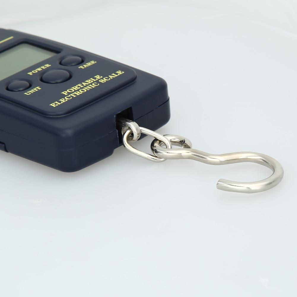 40 kg x 10 g mini digitális mérleg a halászati poggyász - Mérőműszerek - Fénykép 4