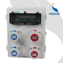 Saipwell IP67  4 Ways Industrial  Maintenance Waterproof Enclosure with Visible window for Circuit  (SP-S1-1091)