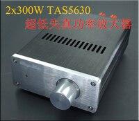Sa1 2x300 w tas5630 mini amplificador de 2.0 canais classe d amplificador digital com ad827 pré-amplificador