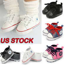 New Toddler Infant Boy Girl Kids Anti-slip Sole Crib Shoes Sneaker Newborn For 0-18M(China)