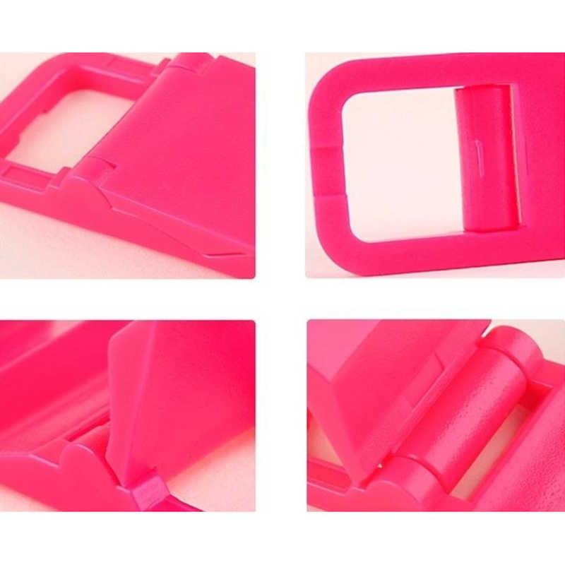 Universal Mobile Phone Stand Holder Mini Desk Stand Key Chain Plastic holder stand For iPod iPhone