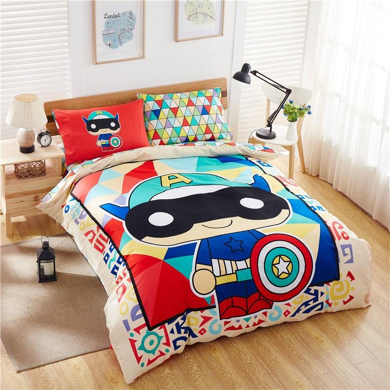 Online Get Cheap Superhero Bedding Aliexpress Com
