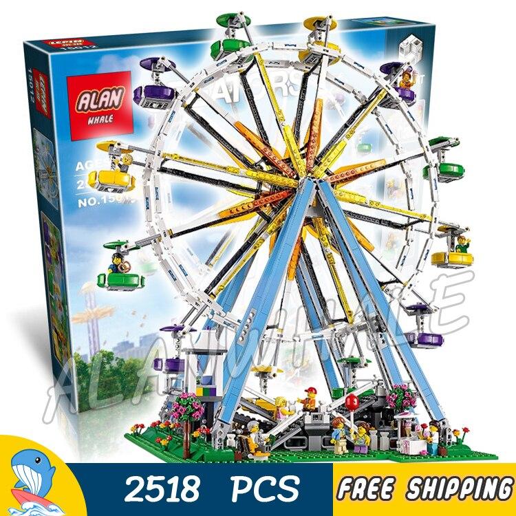 2518pcs Creator Expert Street Ferris Wheel Construction 30000 Model Modular Building Blocks Hot Toys Bricks Compatible with Lego