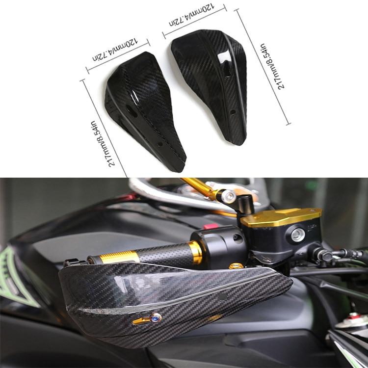 Protections universelles de moto de Fiber de carbone protections de Motocross protections de main pour BMW/Honda/KTM/Kawasaki/Yamaha Suzuki/Ducati
