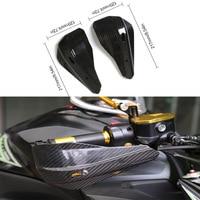 Universal Carbon Fiber Motorcycle Handguards Motocross Protectors Hand Guards for BMW/Honda/KTM/Kawasaki/Yamaha Suzuki/Ducati