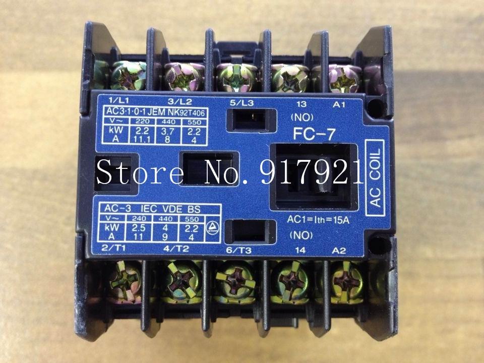 все цены на [ZOB] original FC-7 BMFT60741 AC110V genuine original contactor --2pcs/lot онлайн