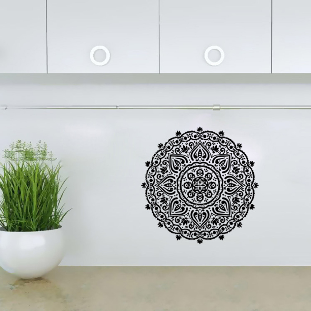 Round Shaped Wall Decor : Diy contemporary funny home wall sticker round shape