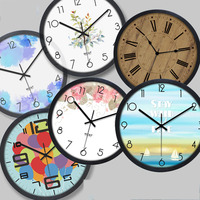 Digital Wall Clock Modern Design Vintage Retro Mechanism 3d Clock Wall Watches Home Decor Kitchen Silent Clock Living Room 5Q205