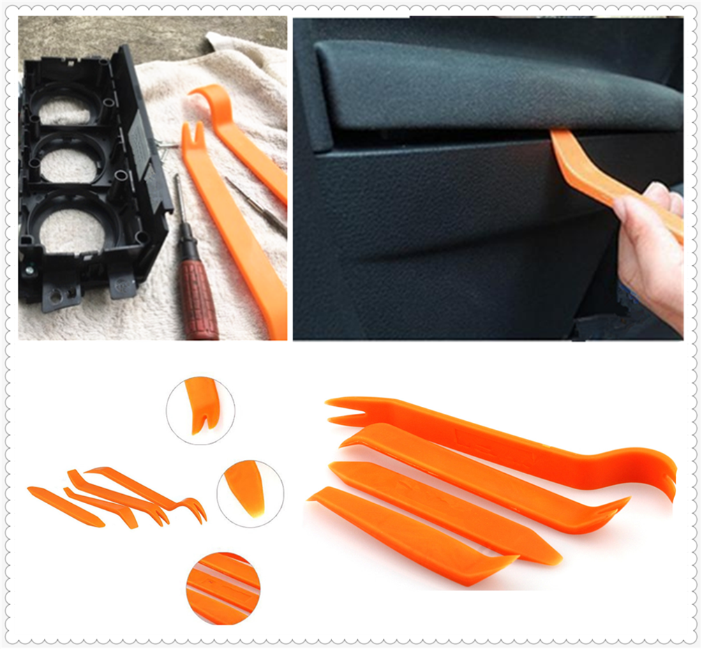 4Pcs car audio door clip panel removal tool accessories for Mercedes Benz E53 C63 C43 C-Class AMG GL550 F800 A200 image