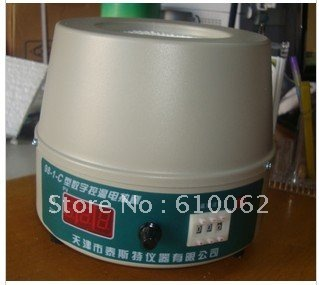 5000ml (5L) Digital Display temperature-constant Heating Mantle, Temperature Setting, Free Shipping! (heating equipment