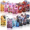 Cartoon Stamper action figures Style So cute educational DIY stamp drawing set  toy study stationary School Party toys 4pcs/set