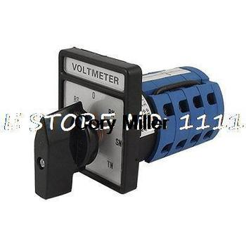 Universal 3 fases giratorio voltímetro Cam Selector interruptor