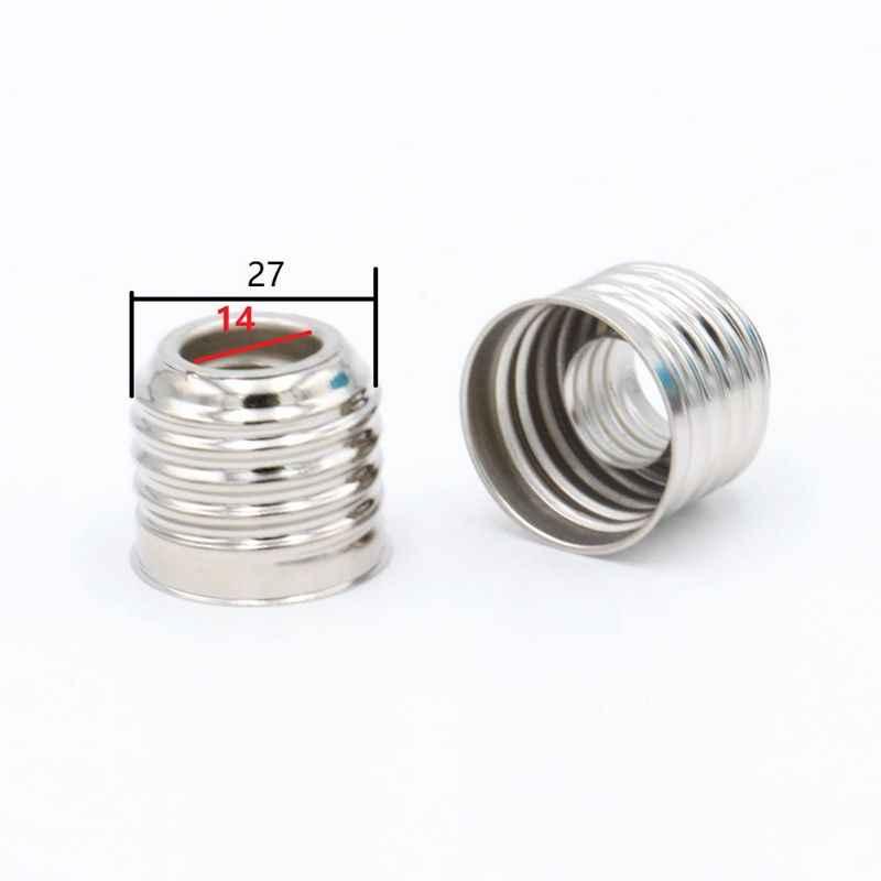 10pcs/50pcs LED Bulb Lamp Base Adapter E27 to E40 Screw Converter E14 to E27 Lamp Socket Adapters