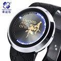 Мужские часы сенсорный экран водонепроницаемые часы Аналоговый Цифровой СВЕТОДИОДНЫЙ Военный световой Часы Мужчины Relogios Masculinos
