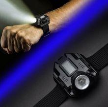 Portable Watch Light Led watch Flashlight LED Wristlight USB Rechargeable Lamps Waterproof Hand Wrist Lighting