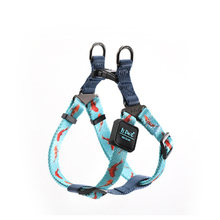 Pet dog Harness Adjustment Colorful pattern Easy Control Handle for Small Medium Large Dogs Training Walking vest harness