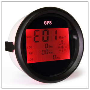 Image 4 - Digital Car Speedometer GPS Odometer 85mm 0 999 knots km/h mph 12V/24V With Backlight Yacht Vessel Motorcycle Boat Car