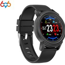 696 Men women smart watch DK02 waterproof watch heart rate fitness step counter tracker for Android IOS sport watches PK Q8 Q1 D(China)
