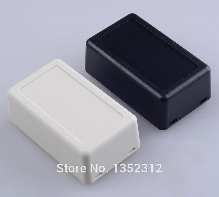 20 pcs/lot 62*37*25mm IP54 waterproof plastic enclosure for electrical junction box desktop abs project box switch box image