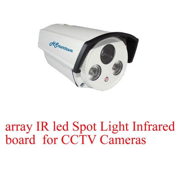 Panneau infrarouge led Spot 2 pièces | Panneau infrarouge pour caméras de vidéosurveillance, vision nocturne pour caméra extérieure étanche TVI CVI AHD WiFi 1080P