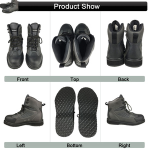 Image 5 - เสื้อผ้าตกปลาWadersตกปลาเสื้อผ้าการล่าสัตว์กลางแจ้งกางเกงและยางSoleรองเท้าWadingชุดรองเท้าDXR1