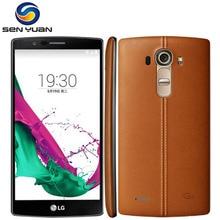 Orijinal Unlocked LG G4 Cep Telefonu H815/H810 3 GB RAM 32 GB ROM 5.5 inç Hexa Çekirdek 16MP Kamera g4 Android telefon