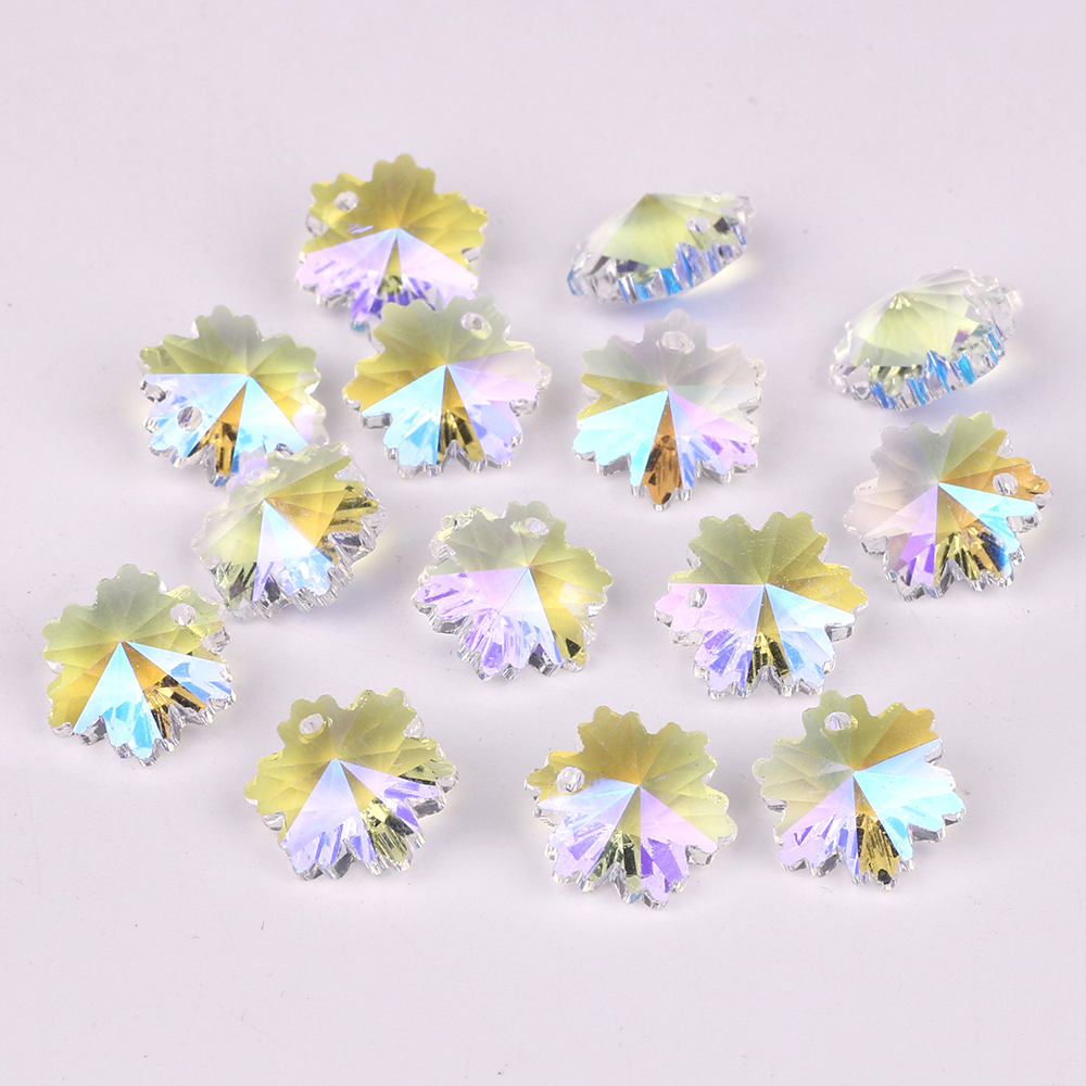 Chinese Crystal Clear Heart Beads Wholesale 14mm Bulk Murano Glass Flower Butterfly Loose Beads For Jewellery Making Supplies
