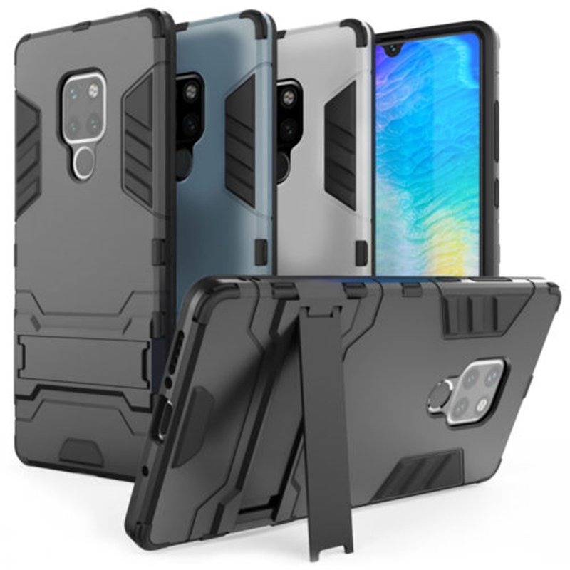 For Huawei Mate 20 pro Full Shockproof Armor Stand Silicone Rugged Cover For P20 Lite P Smart Plus Nova 3 i <font><b>case</b></font> <font><b>Honor</b></font> 10 <font><b>8X</b></font> <font><b>Max</b></font> image