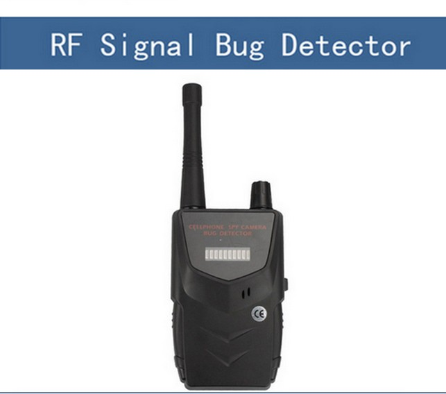 20-6000mhz Wireless RF alarm detector GSM Signal Bug FINDER wireless Detector Finder bug Anti Wiretapping Detector 1 pcs full range multi function detectable rf lens detector wireless camera gps spy bug rf signal gsm device finder