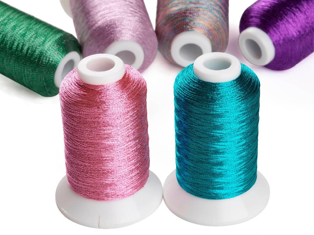Simthread Metallic Embroidery Machine Thread Non-duplicated 32 - Өнер, қолөнер және тігін - фото 2