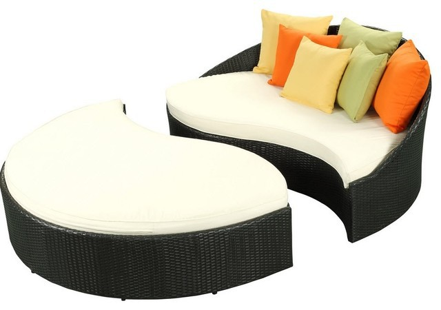 outdoor rattan furniture wicker patio daybed and