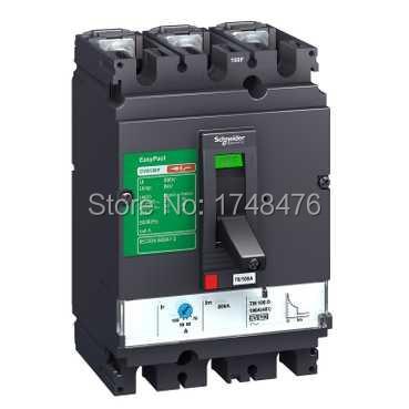 ФОТО NEW LV525453 Easypact CVS - CVS250N circuit breaker -3P/3d