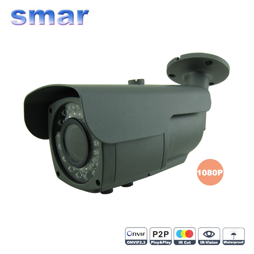 Onvif Security IP font b Camera b font Outdoor Waterproof CCTV Full HD 1080P 2 0